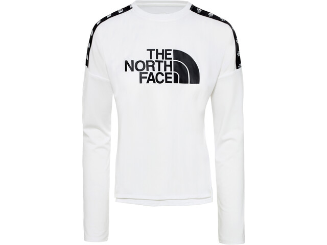 The North Face Train N Logo Crop T-shirt à manches longues Femme, tnf white